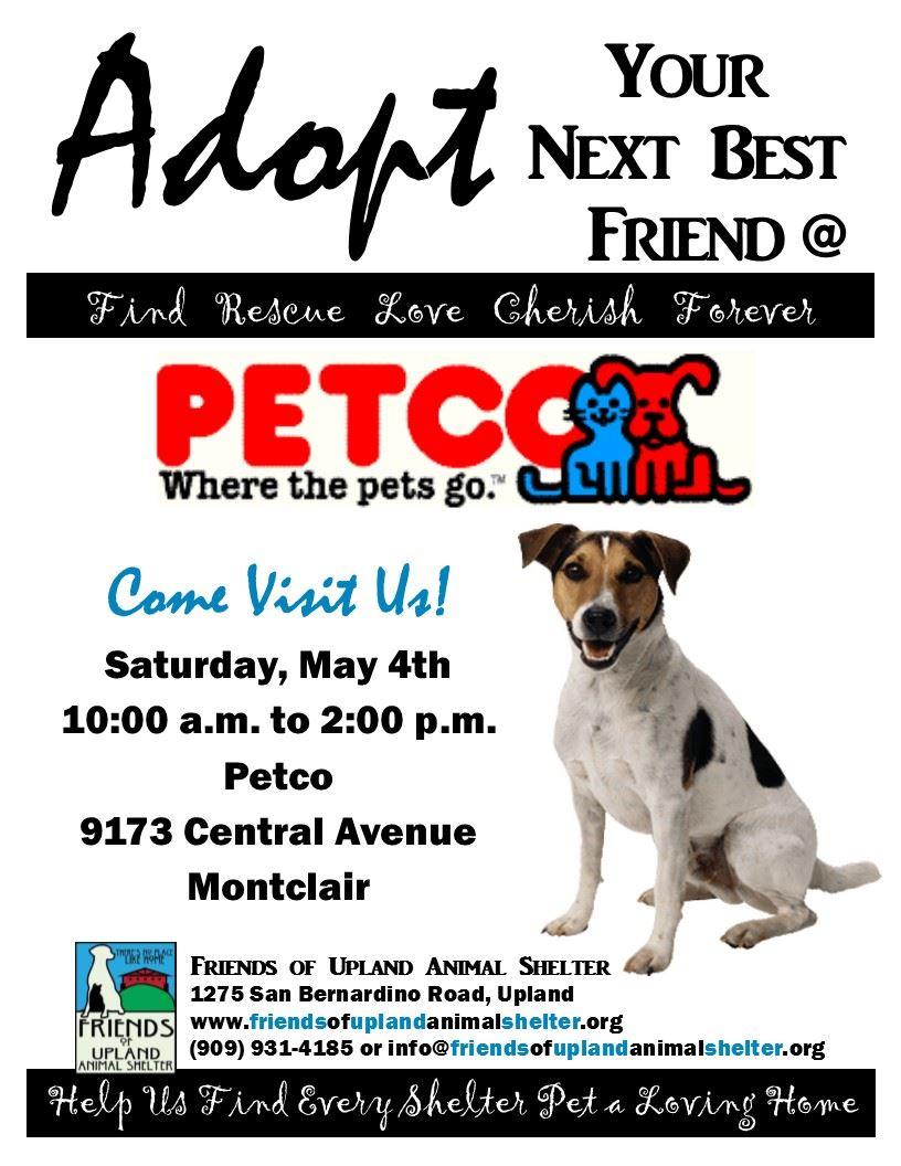 Friends of Upland Animal Shelter - Pet Adoptions @Petco